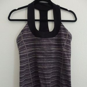 Lululemon Top with mesh back section
